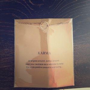 Jewelry - KARMA Necklace.